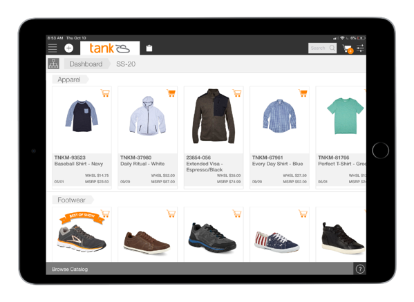 Digital catalogs offer incredible flexibility and can be shared, annotated, and customized by the rep for each of their accounts.