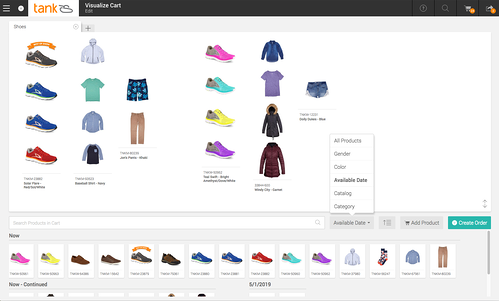 Visually Merchandise Your Order