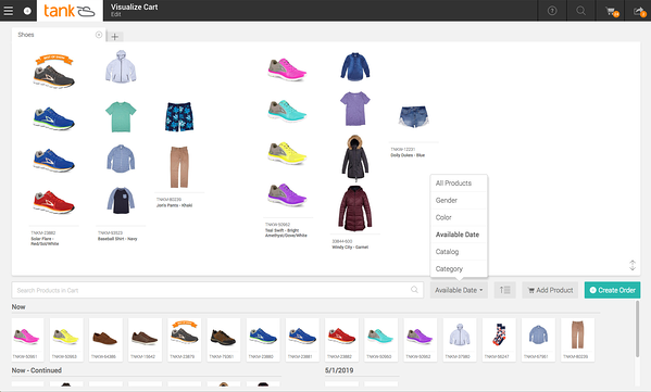 Reps can use our powerful merchandising tools to build better orders for their retailers.